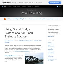 Using Social Bridge Professional for Small Business Success
