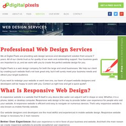 Web design services & affordable web development solution