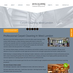 Professional Carpet Cleaning West London