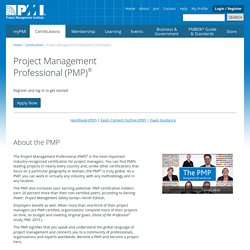 Project Management Professional Certification