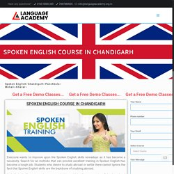 Spoken EnglishClassesin Chandigarh