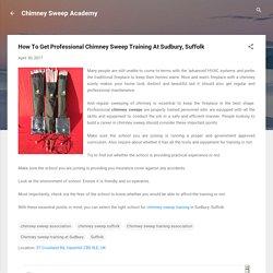 Chimney Sweep Association In Suffolk