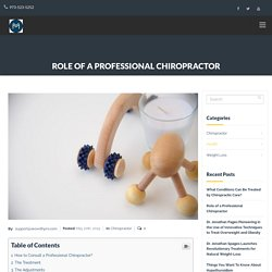 Duty of a Professional Chiopractor - Dr Spages