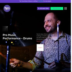 Professional Drum Classes in Mumbai - True School of Music