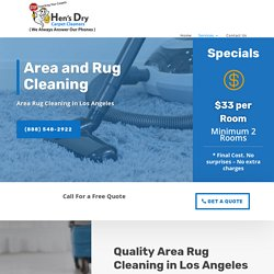 Get The Best Rug Cleaning Services