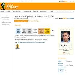 Joao Paulo Figueira - Professional Profile