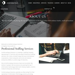 Professional Staffing Services - Coinformatique Solutions