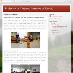 Increase Employment Services With Commercial Cleaning Toronto