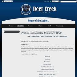 Professional Learning Community (PLC) - Deer Creek Schools