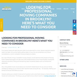 Best Moving Companies in New York