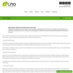 Professional Custom Web Design Company – echo innovate IT
