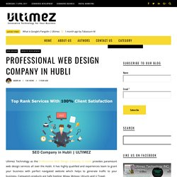 Professional Web Design Company in Hubli