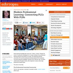 Modern Professional Learning: Connecting PLCs With PLNs