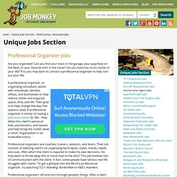 Professional Organizer Jobs - Become a Clutter Consultant