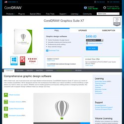 DRAW Graphics Suite X5 - Professional Graphic Design Software