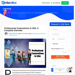 Professional Corporations in USA: A Complete Overview