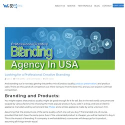 Looking for a Professional Creative Branding Agency in USA