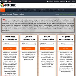 Professional Open Source Customization Services Company, USA - Logelit