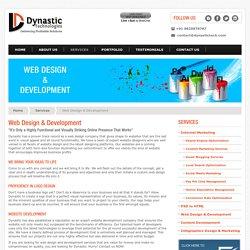 Professional Website Design & Development Service in India