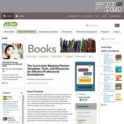 ASCD Book: The Curriculum Mapping Planner: Templates, Tools, and Resources for Effective Professional Development