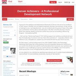 Denver Achievers - A Professional Development Network (Denver, CO)