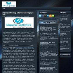 Professional Web Design and Development Company in India