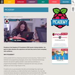 Picademy - Free Professional Development from Raspberry Pi