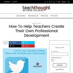 8 Steps To Flipped Teacher Professional Development