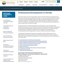 Professional Development in Florida