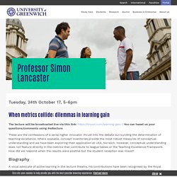 Open Lectures in Teaching and Learning