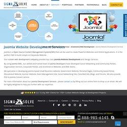 Professional Joomla Web Design & Development Services
