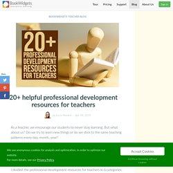20+ helpful professional development resources for teachers