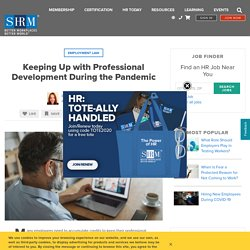 Keeping Up with Professional Development During the Pandemic