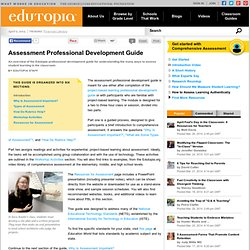 Assessment Professional Development Guide