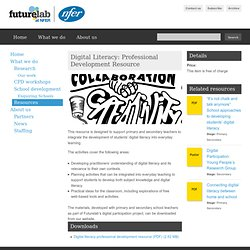 Digital Literacy: Professional Development Resource