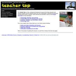 The Teacher Tap: Professional Development Resources for Educators