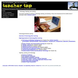 The Teacher Tap: Professional Development Resources for Educators