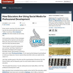 How Educators Are Using Social Media for Professional Development