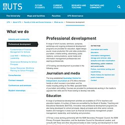 UTS: Face2Face: Engaging people in groups - Skills for collaboration - Training and Development Services