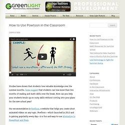 Green Light Professional Development