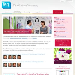 Blogging About SMART Boards, Resources, Lessons, Training, Games