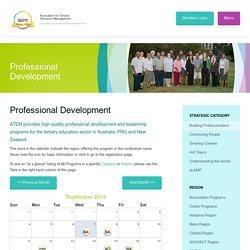 Professional Development - ATEM