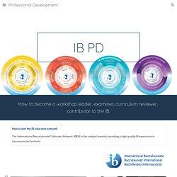 Professional Development - IB
