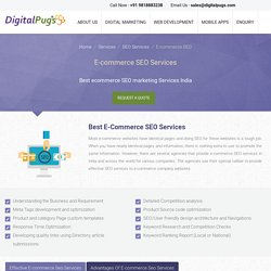 Ecommerce SEO Services India – Professional Ecommerce SEO Company India