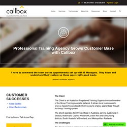 Professional Training Agency Grows Customer Base with Callbox - B2B Lead Generation Company Malaysia