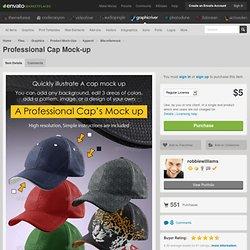 Professional Cap Mock-up