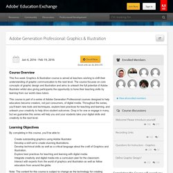 Adobe Generation Professional: Graphics & Illustration