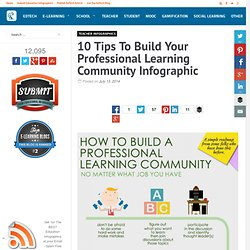 10 Tips To Build Your Professional Learning Community Infographic