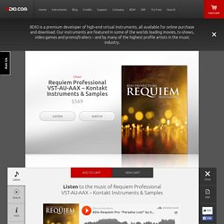 Requiem Professional VST-AU-AAX - Kontakt Instruments & Samples