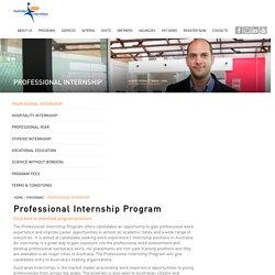 Professional Internship — Australian Internships